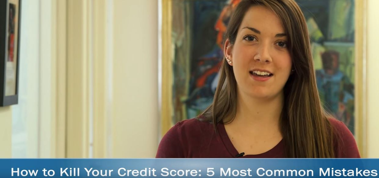 Young Adult Being Interviewed about Her Credit Score